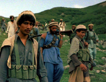 photo of mujahideen (basically children)