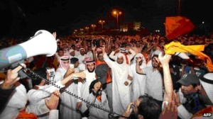 Kuwait Citizen's waiting and waiting for US Arms and Communications to over-throw their corrupt government.